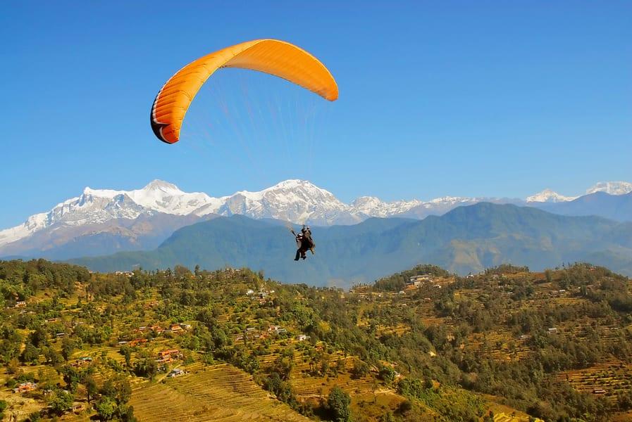 Paragliding In Dharamshala Image