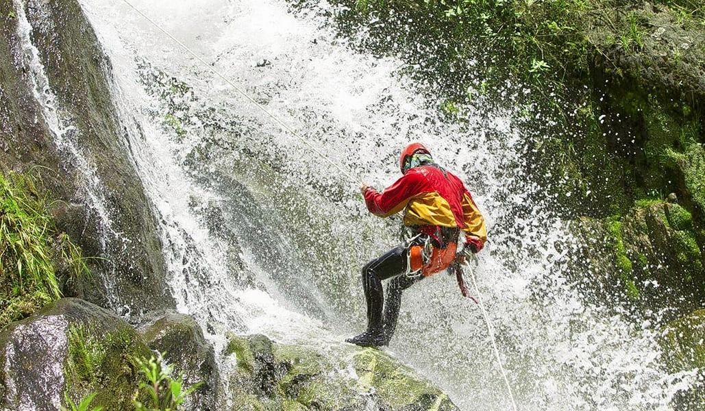 Canyoning In Dandeli Image