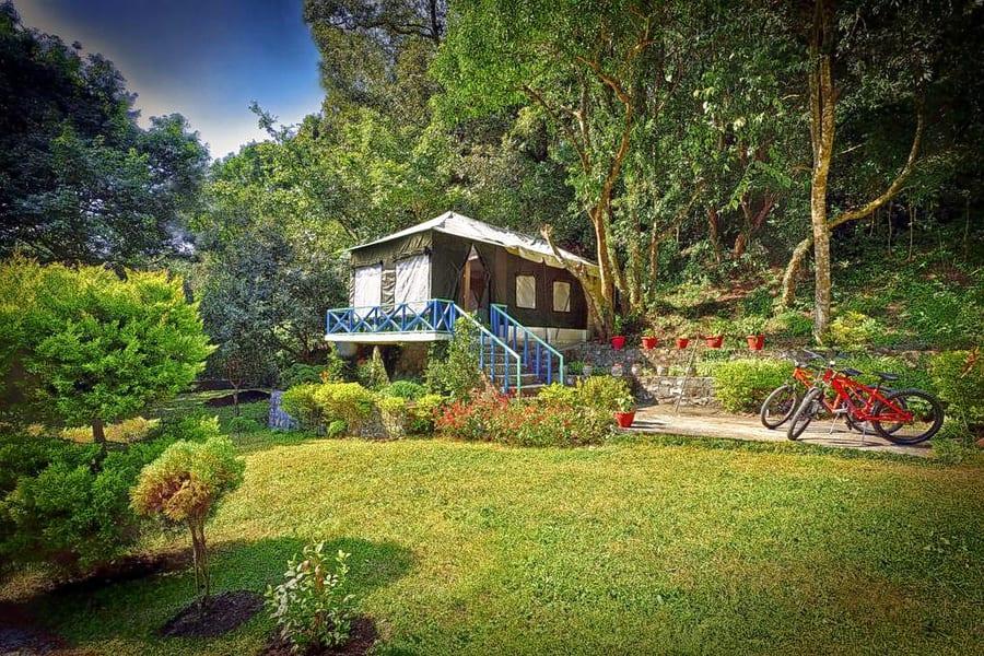 Lakeside Camping In Nainital Image