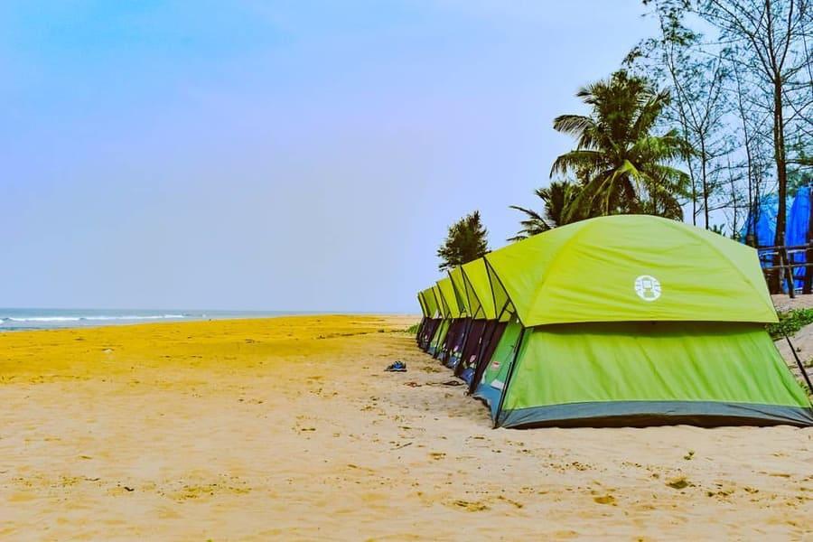 Gokarna Beach Camping Image