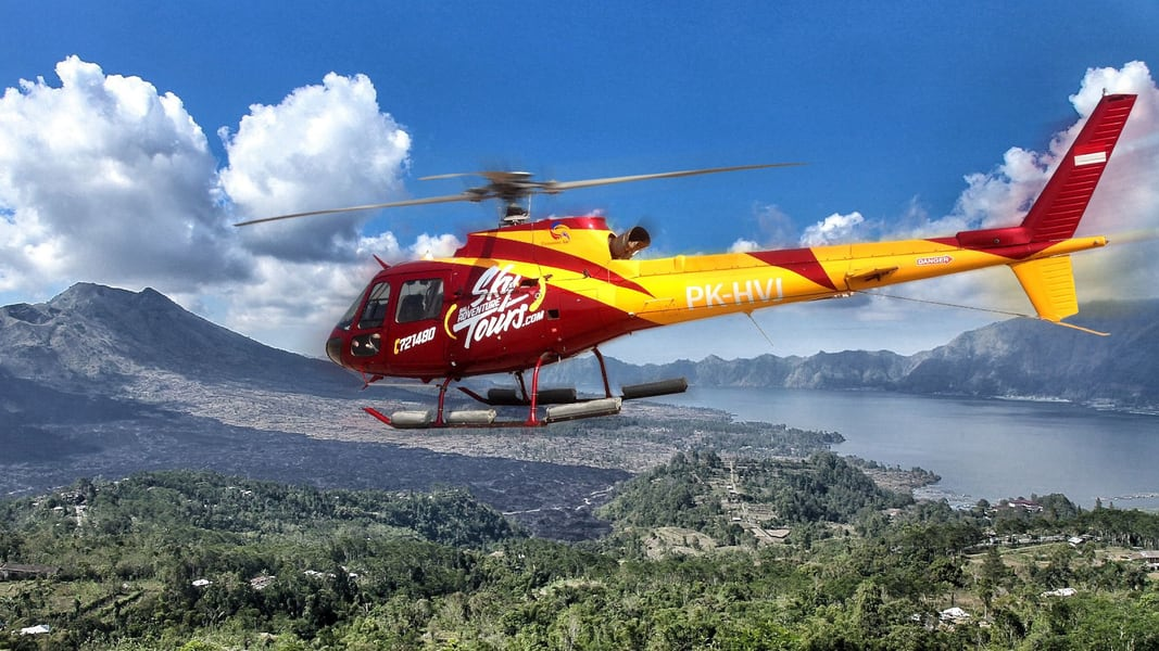 Kintamani Volcano Helicopter Tour Image
