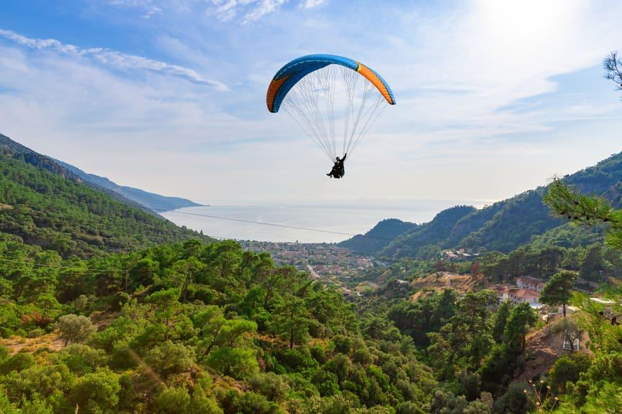 Riverside Camping, Rafting And Paragliding In Manali Image