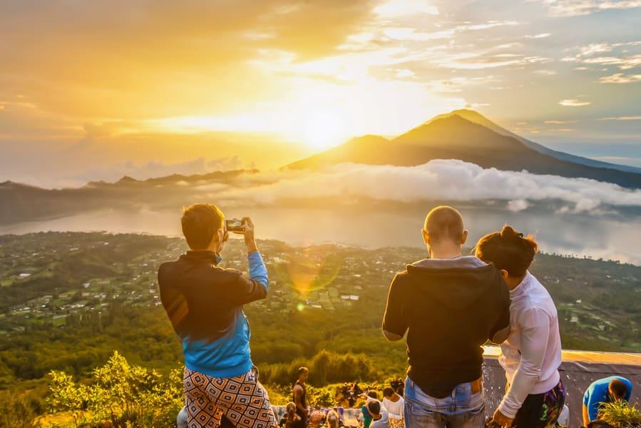 Mount Batur Trekking With Jungle Swing Image