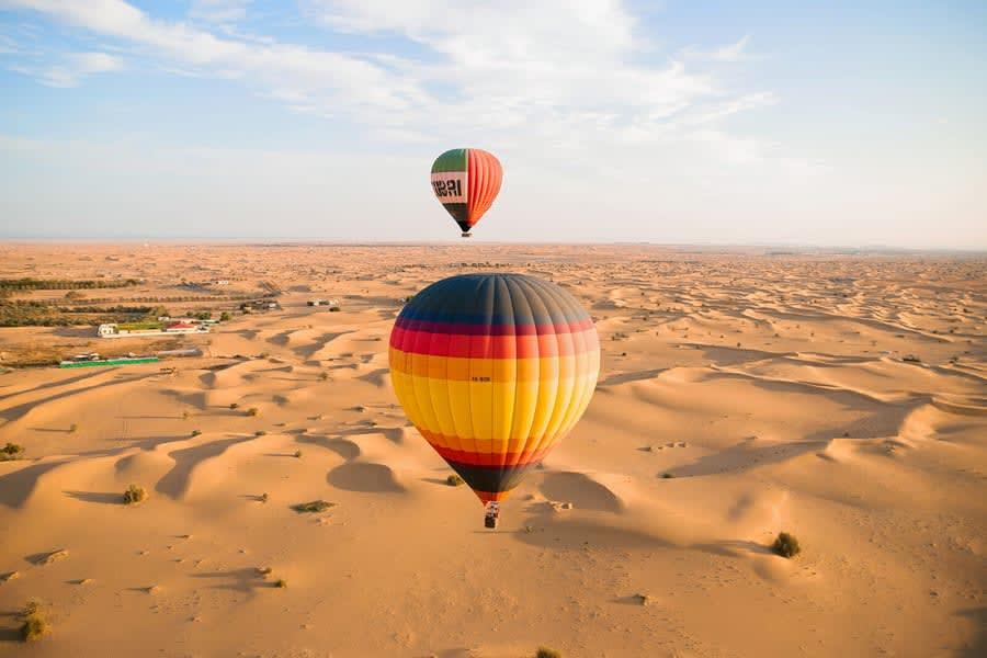 Hot Air Balloon Dubai Image