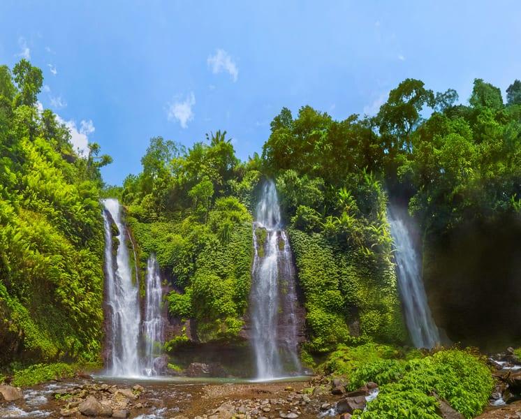 Sekumpul Waterfall Trek In Bali Image