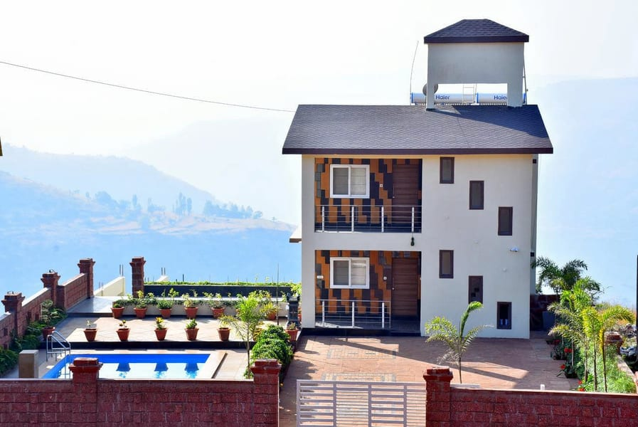 Experience villa stay with pool near Panchgani Image
