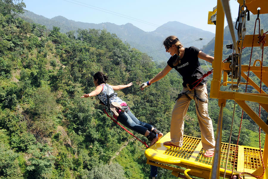 Bungee Jumping in Rishikesh Image
