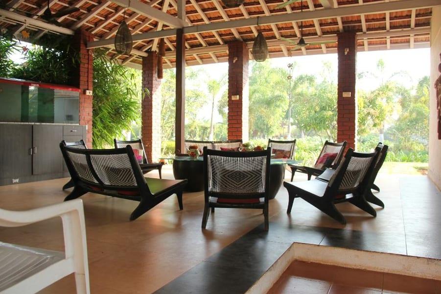 A Beachside Vacation Retreat amidst Lush Greens of Alibaug Image