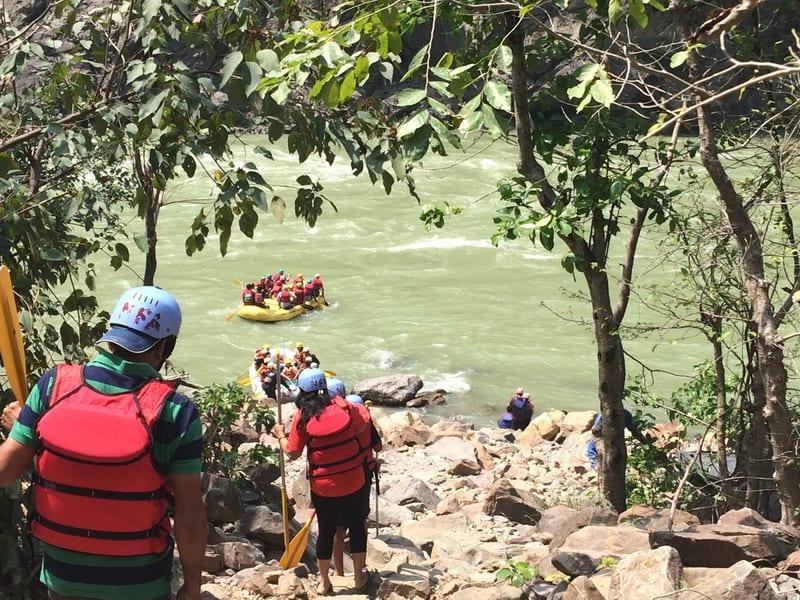 Barapole River Rafting Image