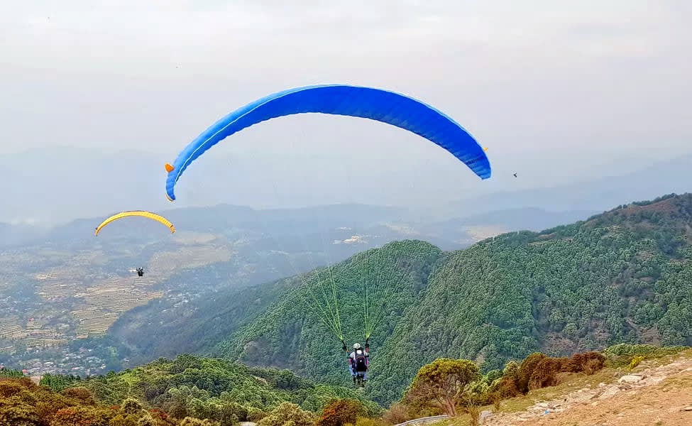 Camping with Paragliding in Bir Billing Image