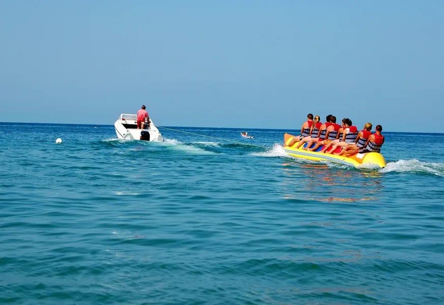 Baga Beach Water Sports Image