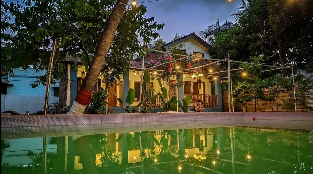 A Cosy Villa With Private Swimming Pool In Alibag Image
