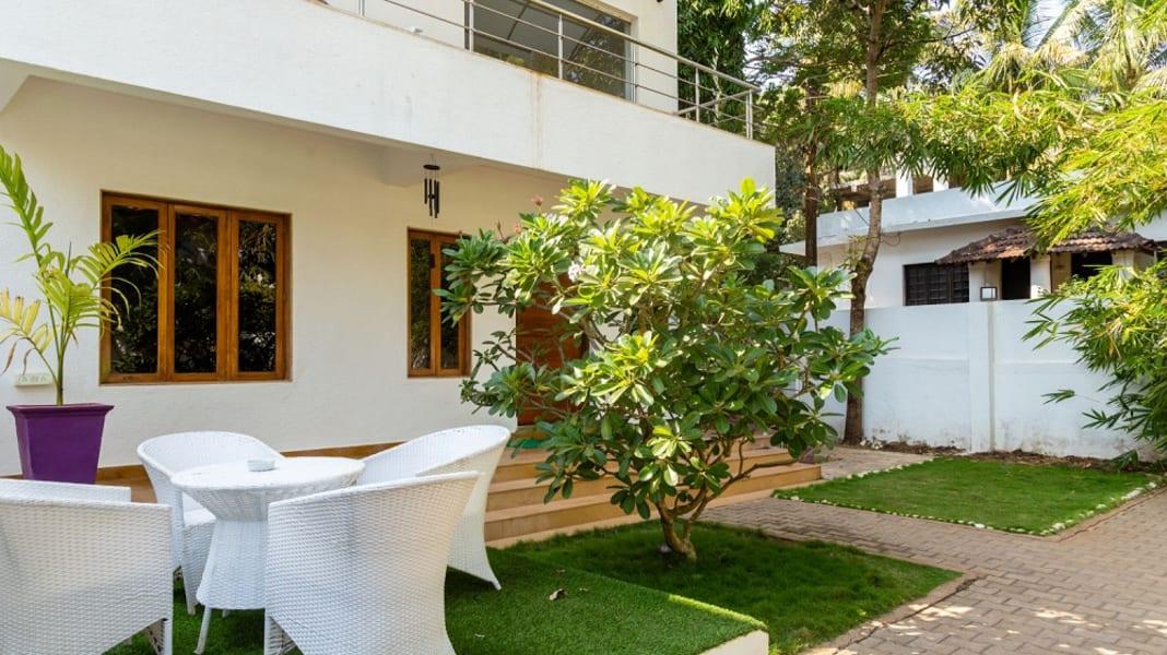 An Elegant Beachside Villa in Baga Image