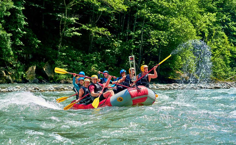 Ayung River Rafting Image