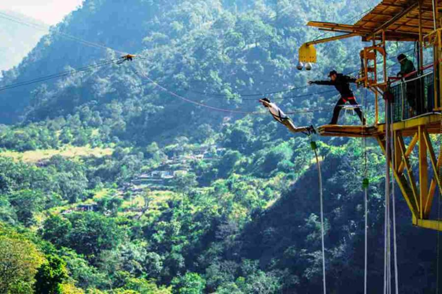 Bungee Jumping In Goa Image