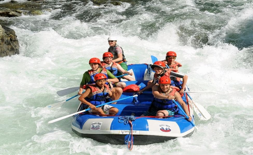 Bhadra River Rafting Image