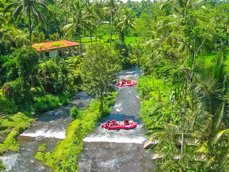 Rafting In Telaga Waja River Image
