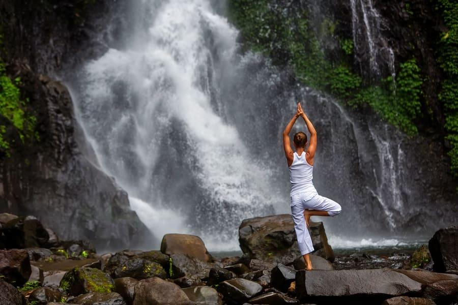 Trek to Gitgit Waterfalls Image