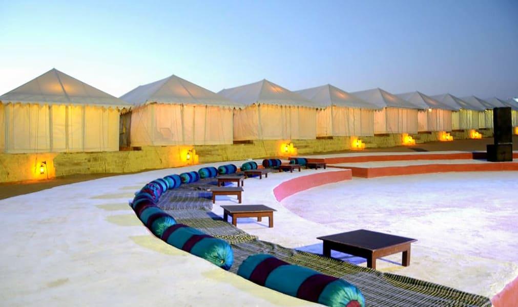 Desert Camping In Jaisalmer With Camel Safari Image
