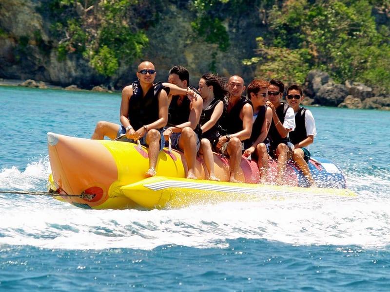 Banana Boat Ride in Bali Image