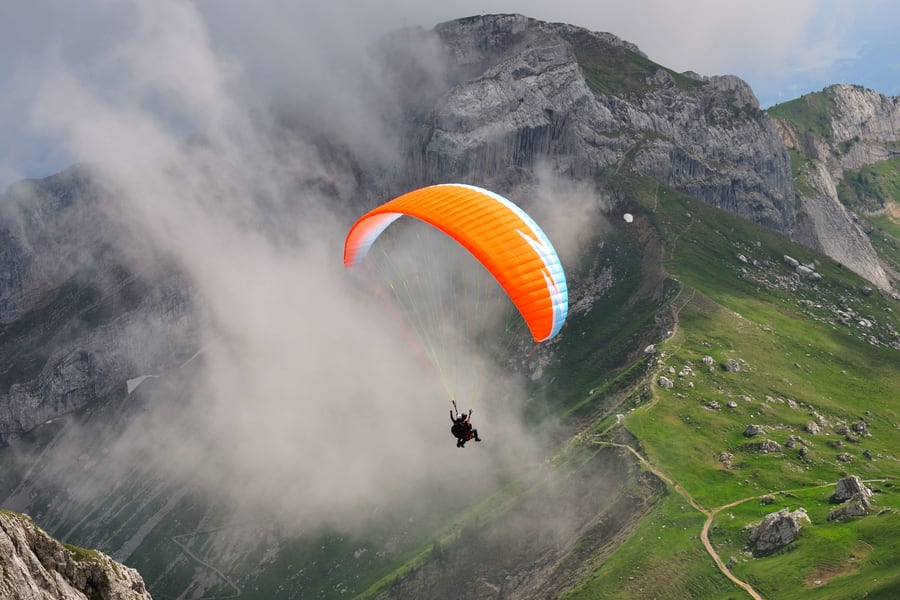 Paragliding in Gangtok Image