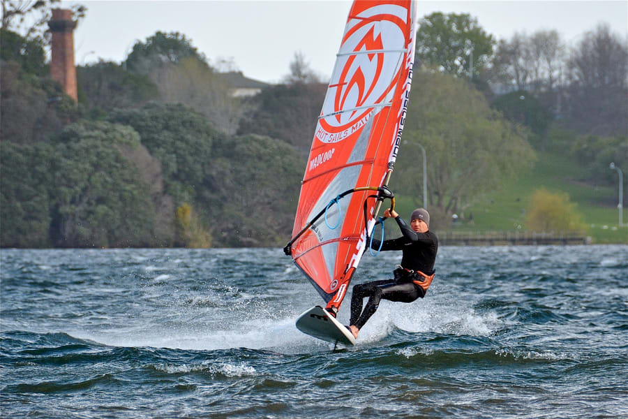 Windsurfing In Bali Image