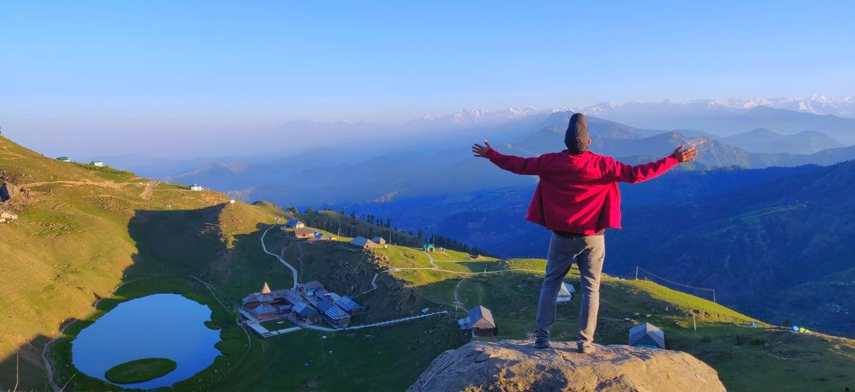 Prashar Lake Trek Image