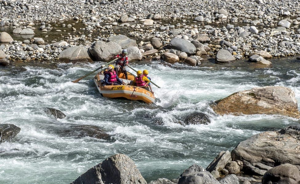 Camping, Rafting & Adventure Activities At Manali  Image