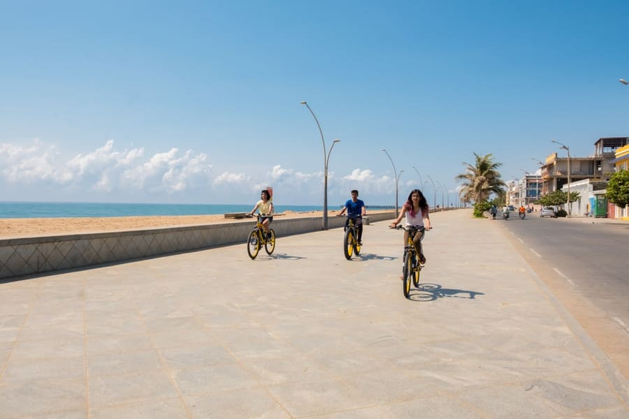 Cycling Tour In Pondicherry Image