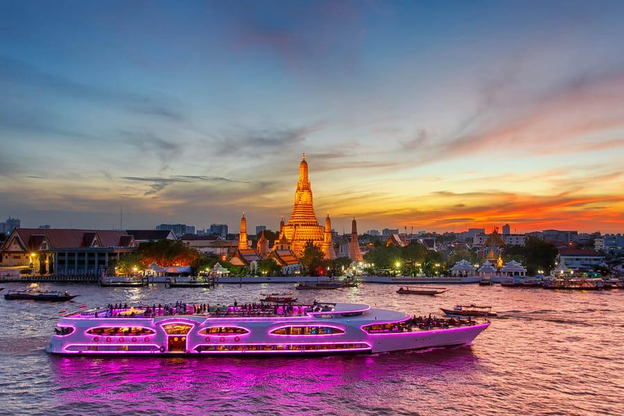 Chao Phraya River Dinner Cruise Image