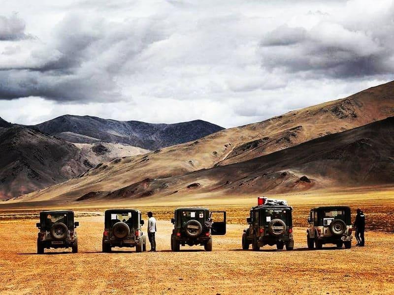 Spiti Valley Jeep Safari Image