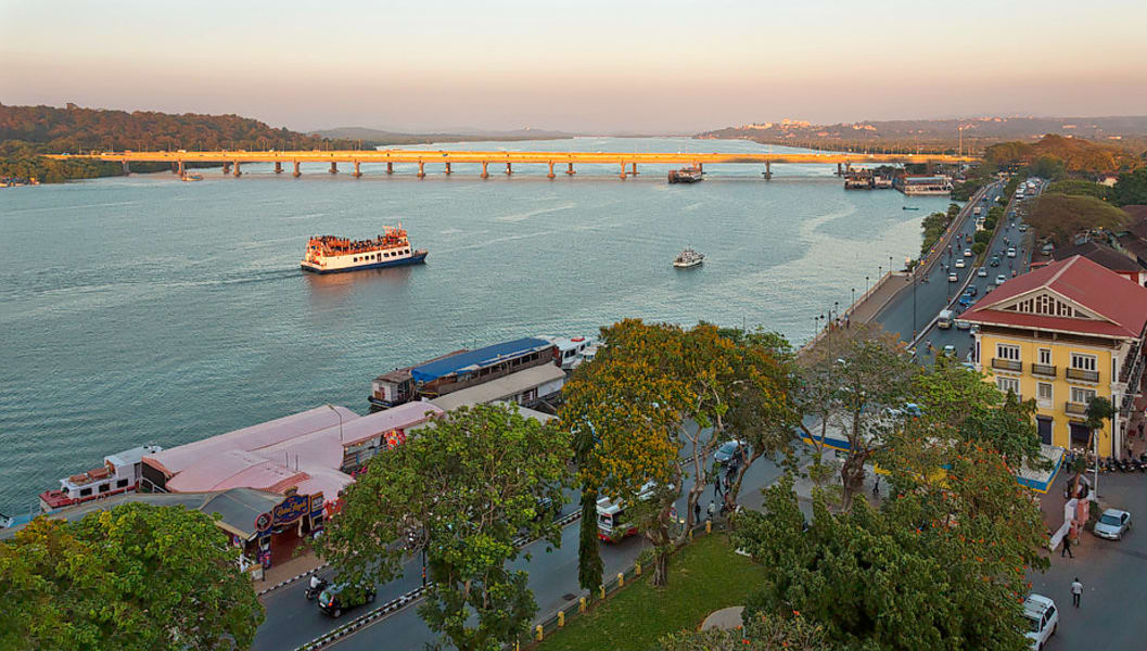 Mandovi River Cruise Image