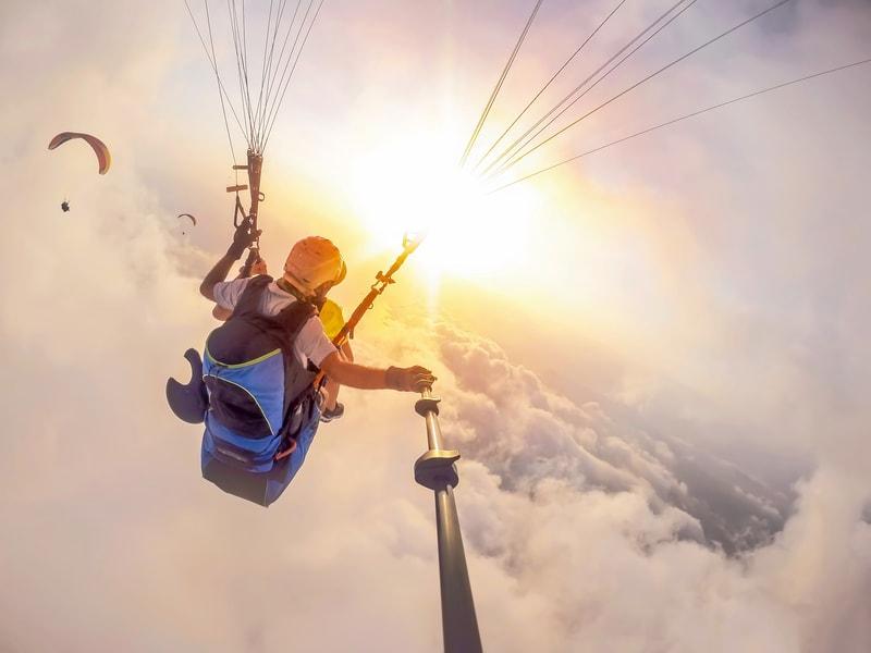Paragliding In Bhimtal Image