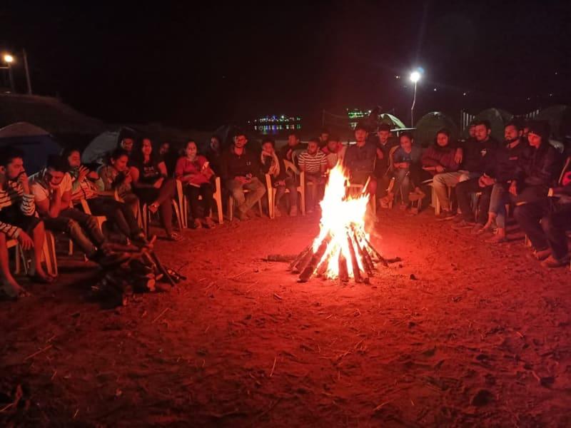 Pawna Lake Camping Image