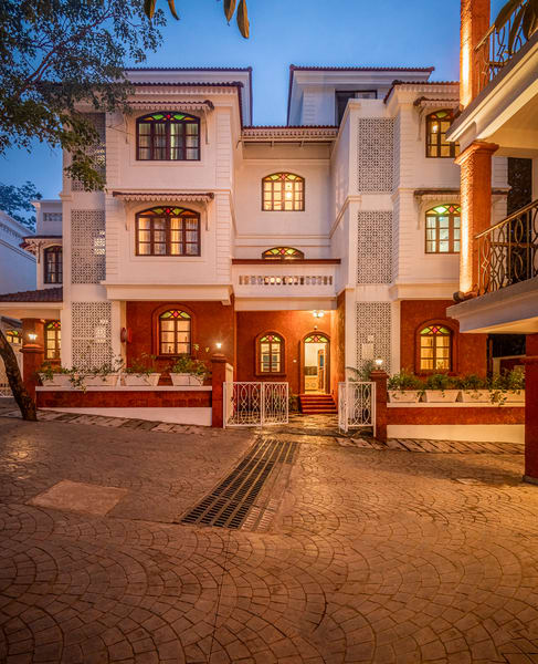 A peaceful villa with serene views in Candolim Image