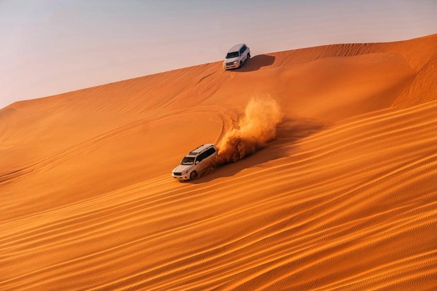 Morning Desert Safari Abu Dhabi Image