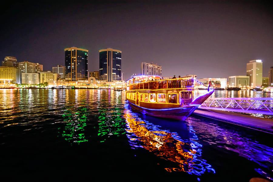 Dhow Cruise Dubai Creek Image