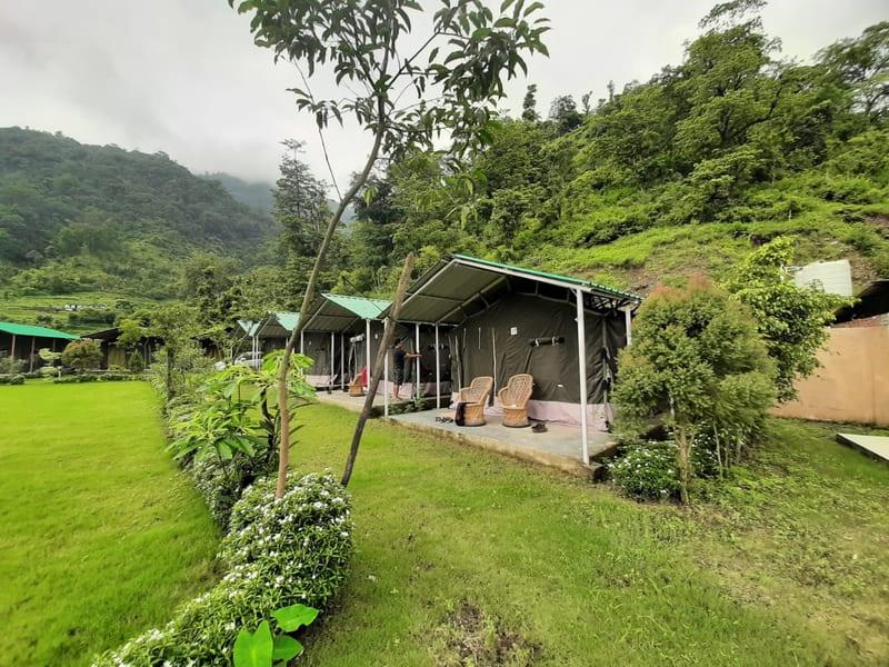 Jungle Camping In Rishikesh  Image