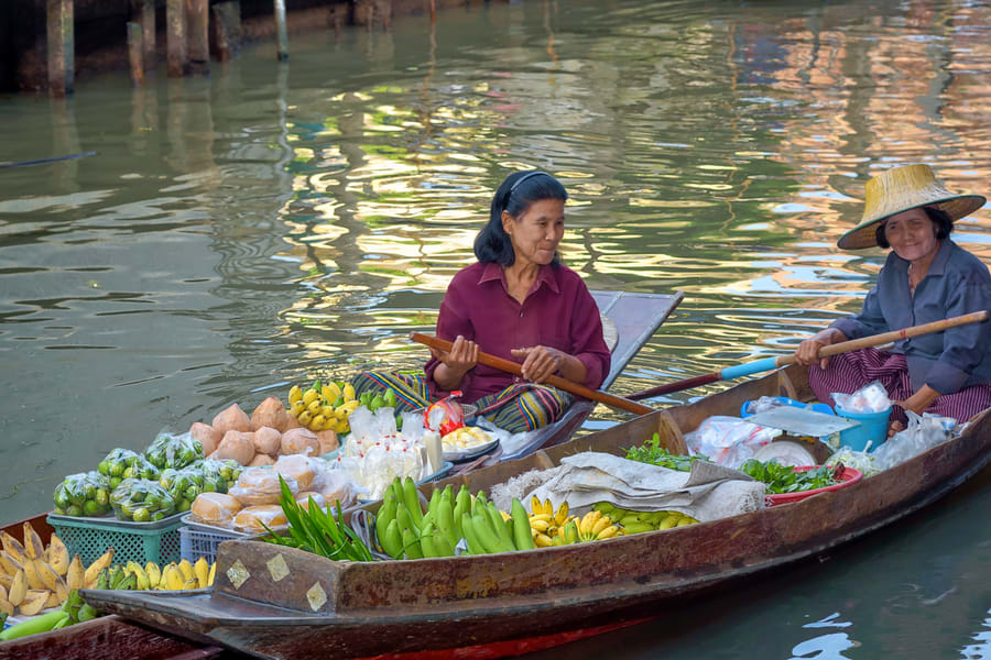 Pattaya Floating Market Tickets Image