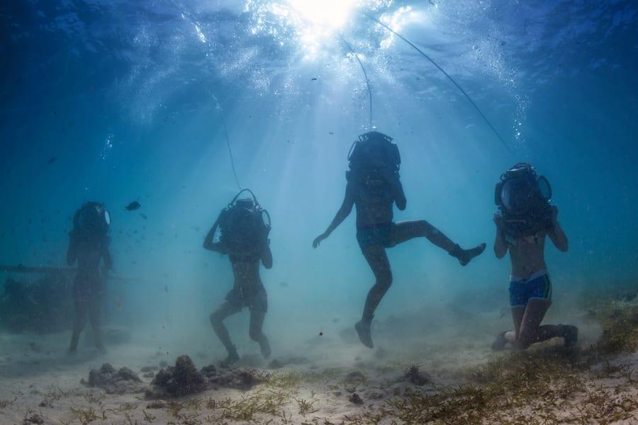 Sea Walking in Bali Image