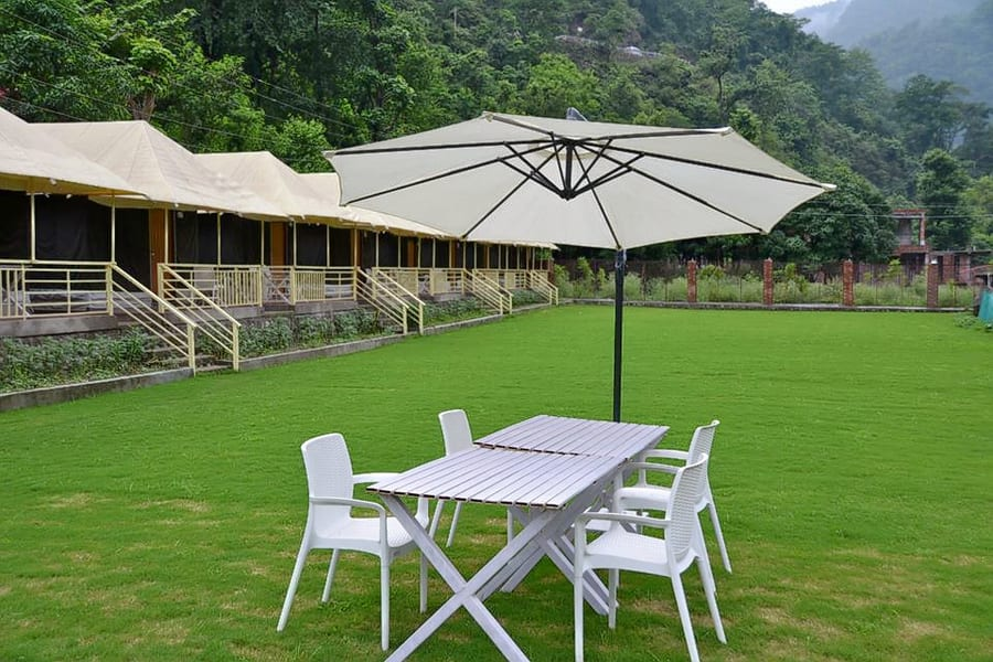 Rishikesh Camping With Rafting Image
