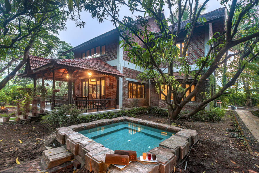 A Secluded Homestay Amidst The Green Woods Of Alibaug Image