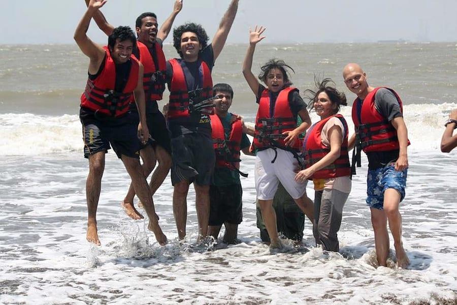 Corporate Day Out At Mandwa Beach Near Mumbai Image