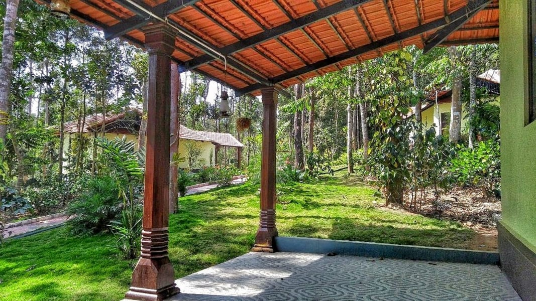 Homestay Cottages With Swimming Pool Into The Woods Sakleshpur Image