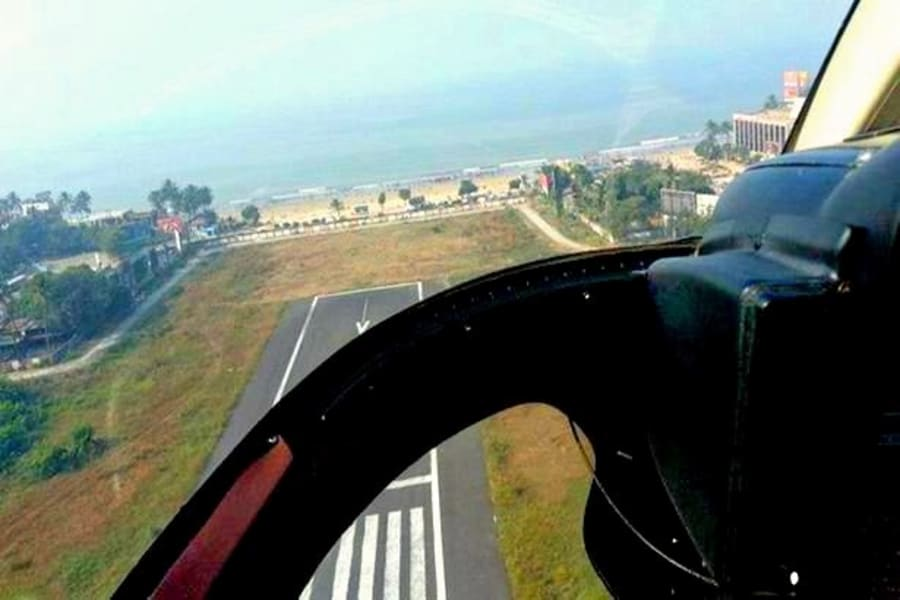 Helicopter Ride In Mumbai Image