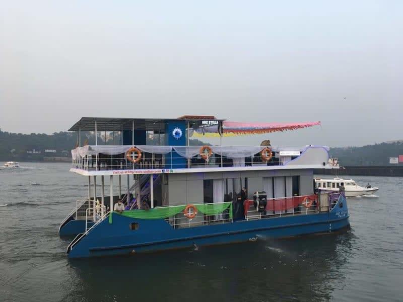 Dinner Cruise In Mandovi River Image