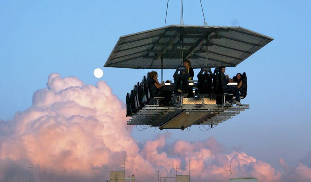 Dinner In The Sky Dubai Image