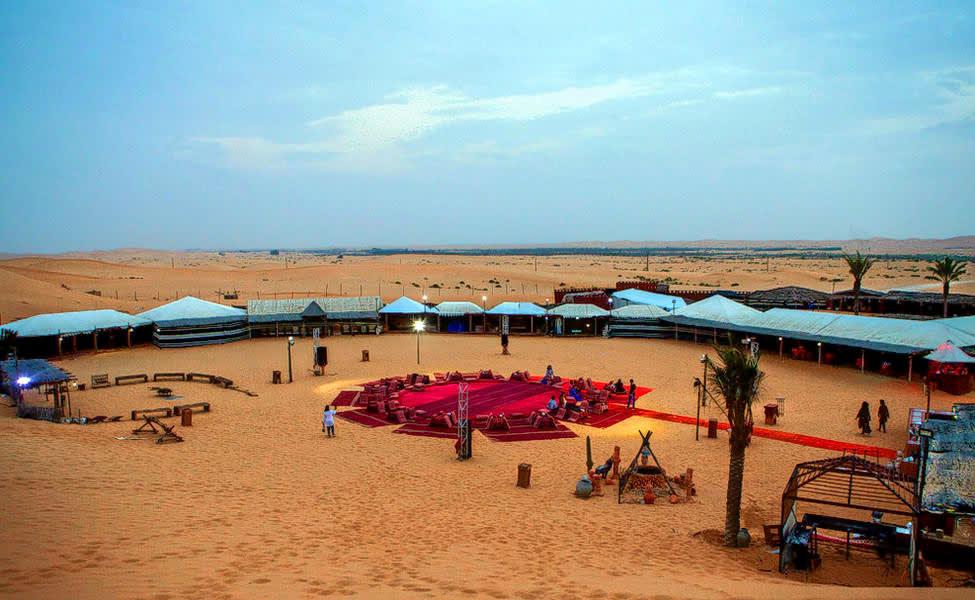 Abu Dhabi Evening Desert Safari Image