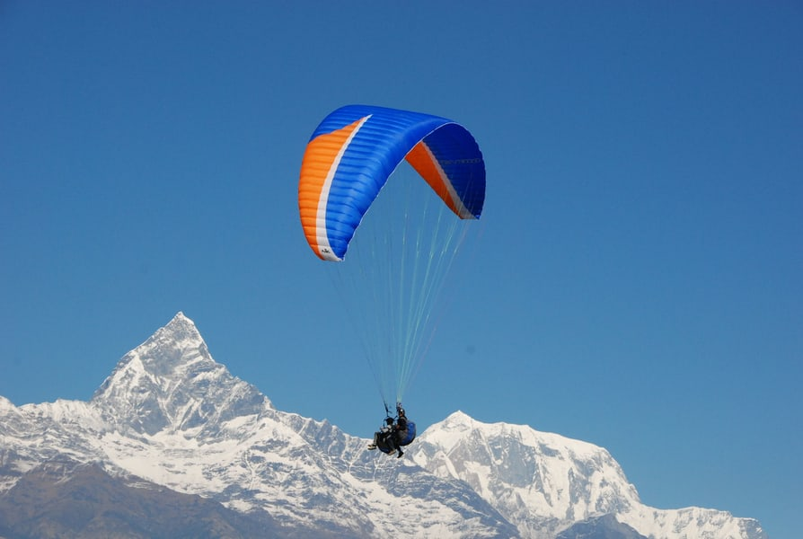 Paragliding in Shimla Image