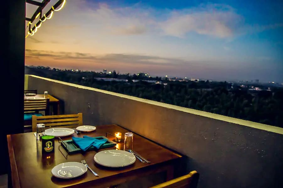Romantic Candle Light Dinner In Bangalore Image